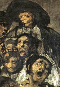 A Pilgrimage to San Isidro (1819–23) by Francisco de Goya