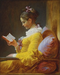A Young Girl Reading (c.1776) by Fragonard