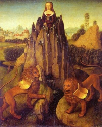 Allegory of Chastity (1475) by Hans Memling