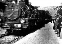L'arrivée d'un train en gare de La Ciotat (The Arrival of a Train at La Ciotat Station is an 1895 French short black-and-white silent documentary film directed and produced by Auguste and Louis Lumière. It was first screened on December 28 1895 in Paris, France, and was shown to a paying audience January 6 1896.