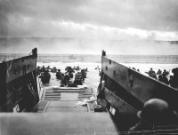 D-Day (1944)  June 6, 1944, the date during World War II when the Allies invaded