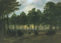 Der Abend (1820) by Caspar David Friedrich