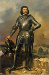 Fancy portrait of Gilles de Rais (c. 1835)