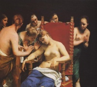 Death of Cleopatra (1658) by Guido Cagnacci