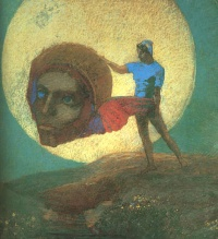 Icarus by Odilon Redon
