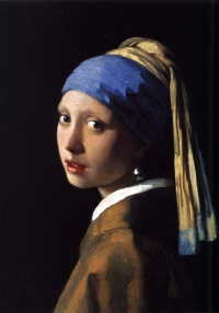 Girl with a Pearl Earring (ca. 1665, Het Meisje met de Parel) by Johannes Vermeer