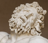 "Illustration: Laocoön and His Sons (""Clamores horrendos"" detail), photo by Marie-Lan Nguyen."