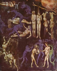 Hell detail from Giotto's Last Judgement