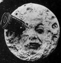 This page Fiction is part of the fantasy series.Illustration: Screenshot from A Trip to the Moon (1902) Georges Méliès