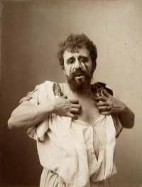 Louis Bouwmeester as Oedipus in a Dutch production of Oedipus the King