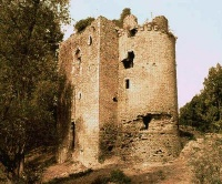 Ruin of the Castle of Machecoul of Gilles de Rais