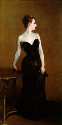 Portrait of Madame X (1884) by John Singer Sargent