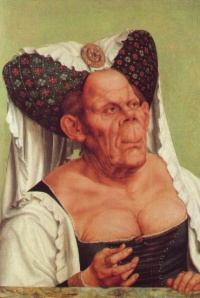 The Ugly Duchess by Matsys, see ugly women