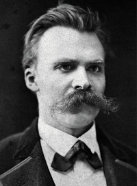 Nietzsche in Basel (c. 1875), a photo of German philosopher Friedrich Nietzsche
