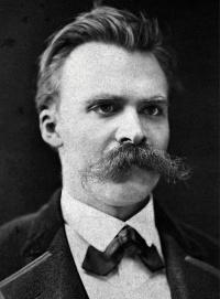 Nietzsche in Basel (c.1875), a photo of German philosopher Friedrich Nietzsche