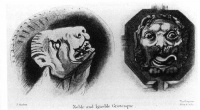 Grotesques from John Ruskin's The Stones of Venice  (1851 - 1853)