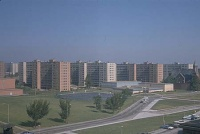 """Modern architecture died in St. Louis, Missouri on July 15, 1972 at 3:32 pm when the infamous Pruitt–Igoe scheme, or rather several of its slab blocks, were given the final coup de grâce by dynamite.""--Charles Jencks"
