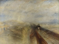 Rain, Steam and Speed – The Great Western Railway (1844) by William Turner