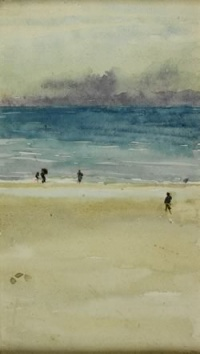 Sea and Sand, Domburg (1900) by James McNeill Whistler