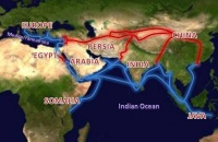The Silk Road, transmitter of Western culture