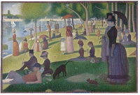 A Sunday Afternoon on the Island of La Grande Jatte (1884-1886) - Georges Seurat