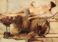In the Tepidarium (1881) - Sir Lawrence Alma-Tadema