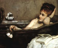 The Bath (1867) - Alfred Stevens