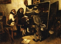 The Experts (1837) by Alexandre-Gabriel Decamps