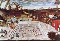 Fountain of Youth (1546) by Lucas Cranach the Elder
