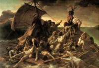 The Raft of the Medusa (1819) by  Théodore Géricault