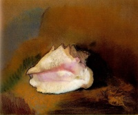 The Shell (1912) by Odilon Redon