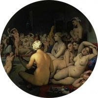 The Turkish Bath (1862) - Jean Auguste Dominique Ingres
