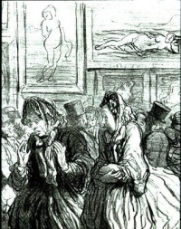 This Year, Venuses Again... Always Venuses! (1864) by Honoré Daumier