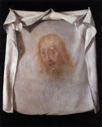 Veil of Veronica by Francisco de Zurbarán, Bilbao Fine Arts Museum, see ...