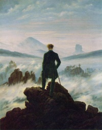 Wanderer above the Sea of Fog (1818) by Caspar David Friedrich