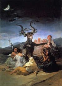Witches' Sabbath (1798) by Francisco Goya